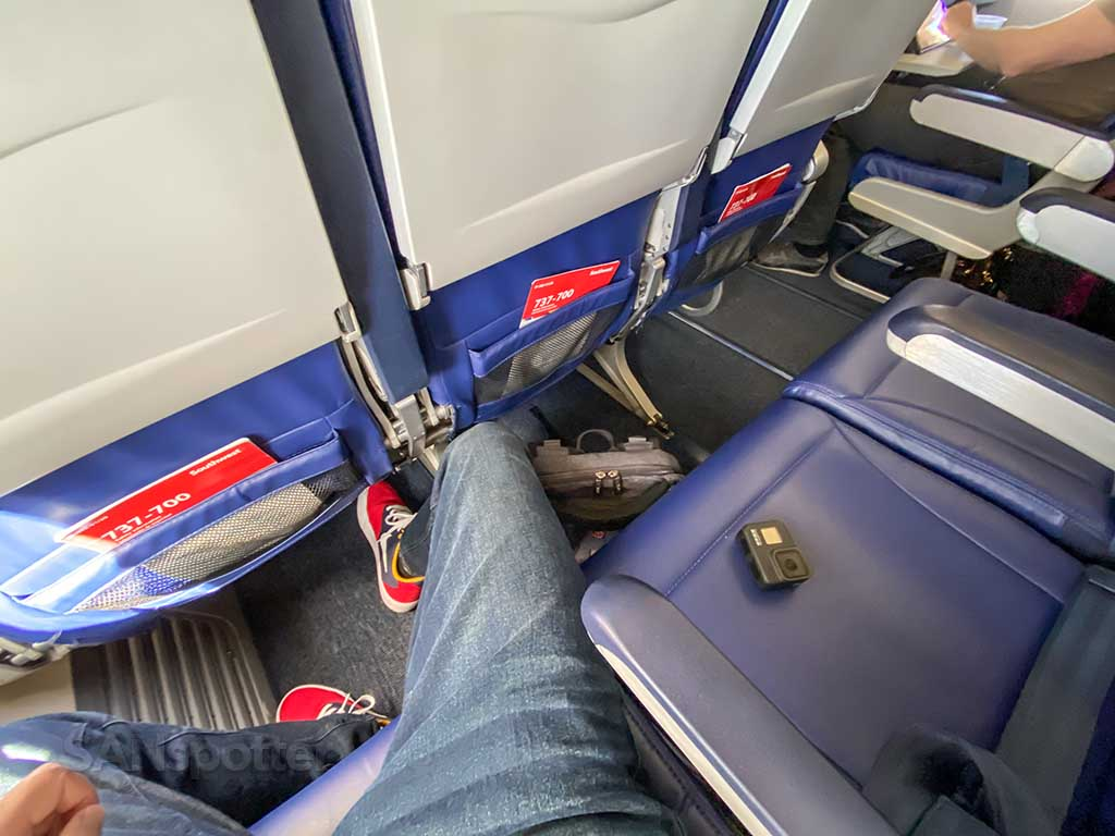 Southwest Airlines blocked middle seat