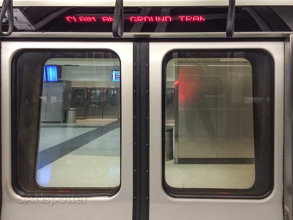 Atlanta Airport underground train