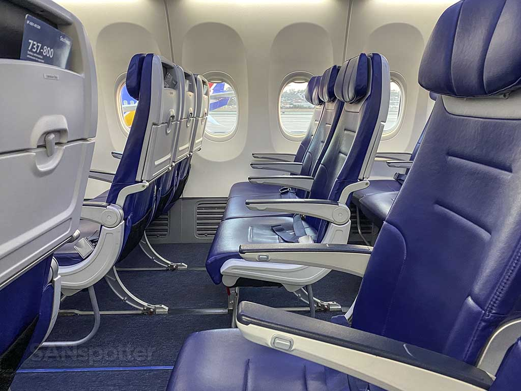 newest Southwest Airlines interior
