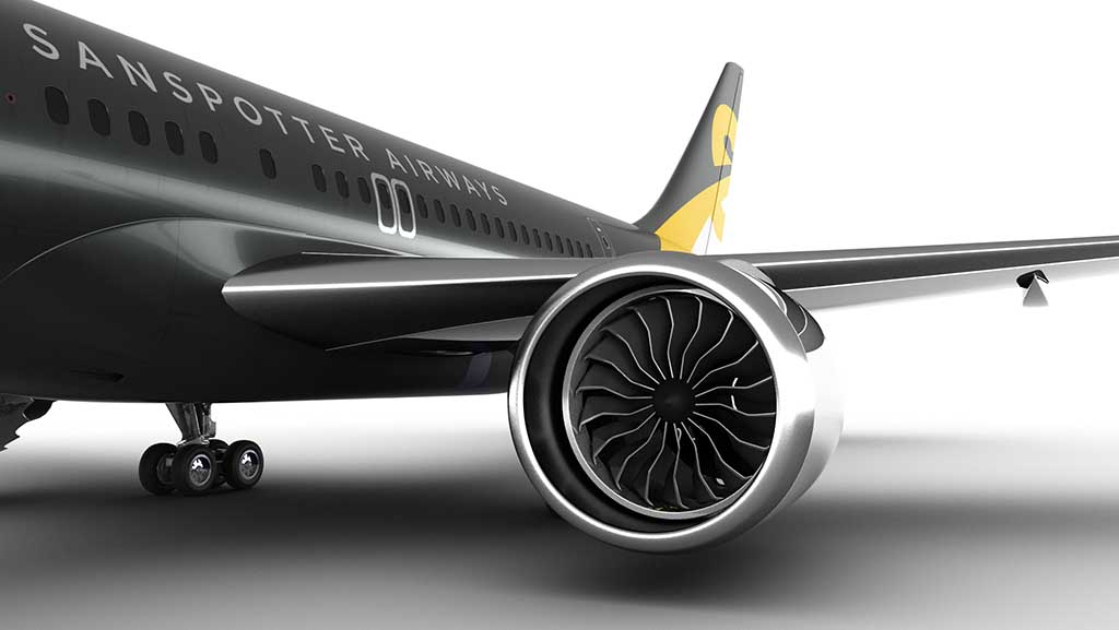 boeing 757 redesign close up