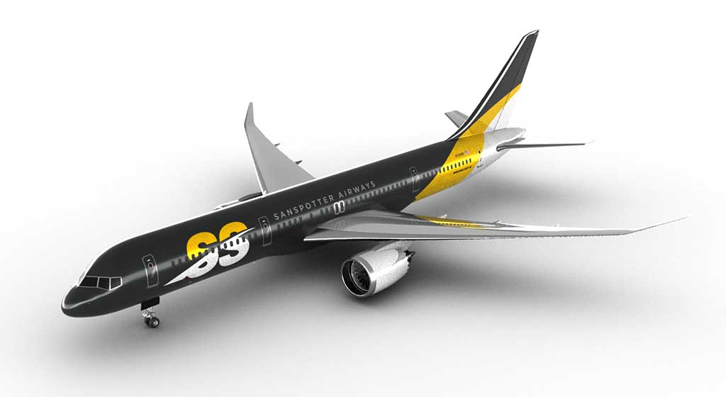 Boeing 757 replacement concept rendering
