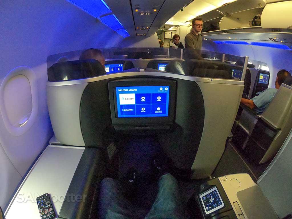 JetBlue Mint seat 4A