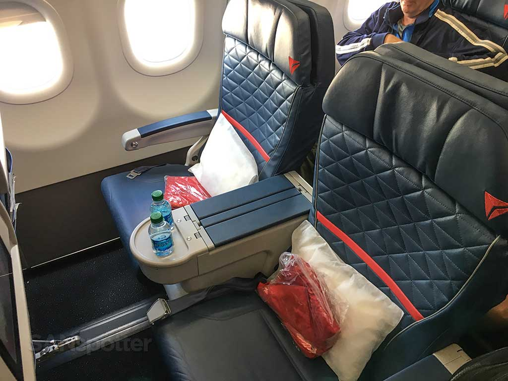 Delta Air Lines A321 first class seat