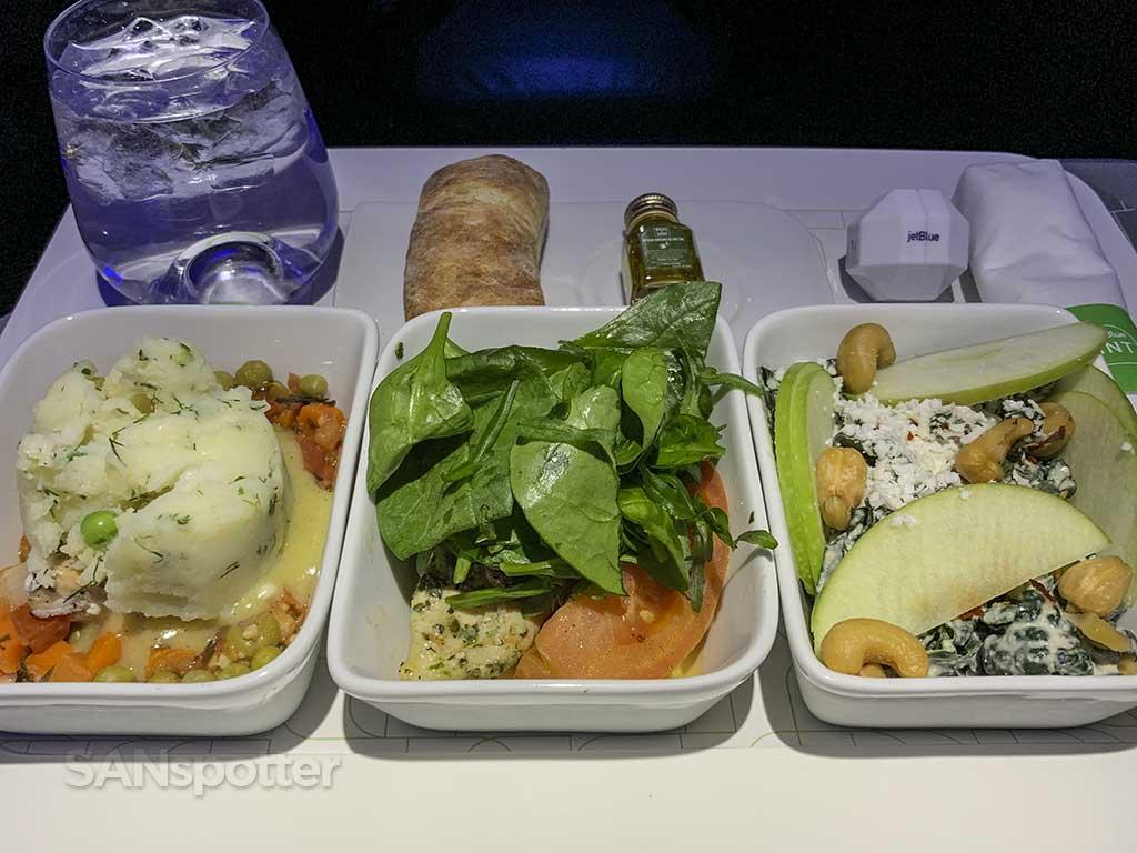 Jetblue mint lunch