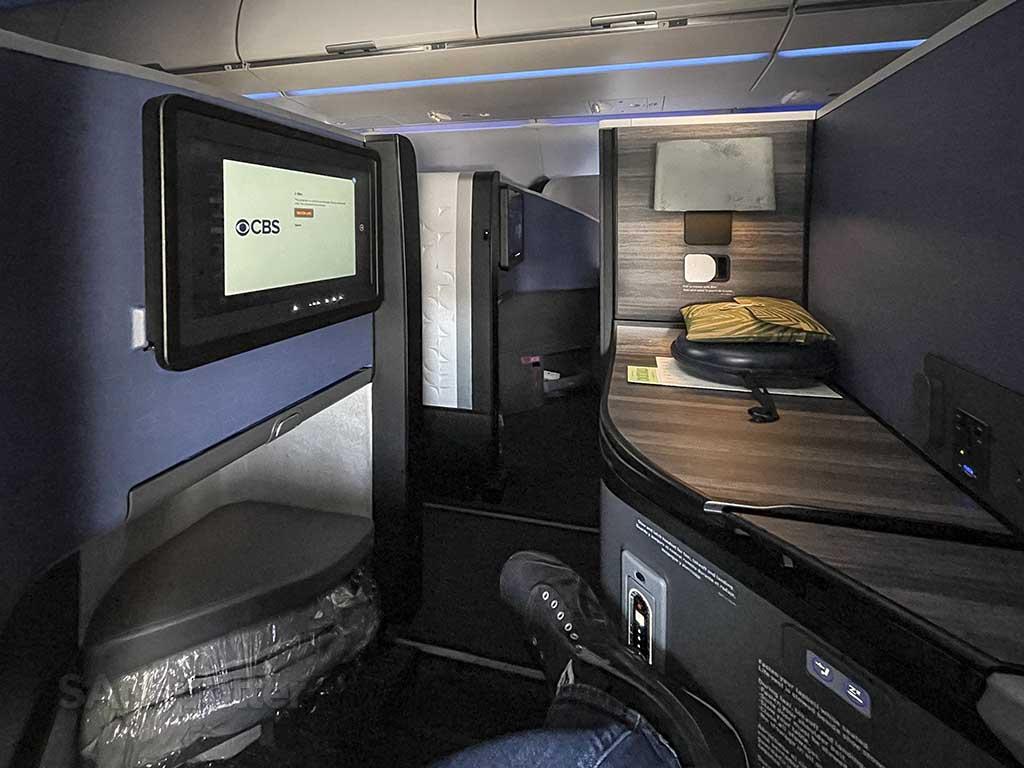 Jetblue Mint seat 7A on the JetBlue A321neo