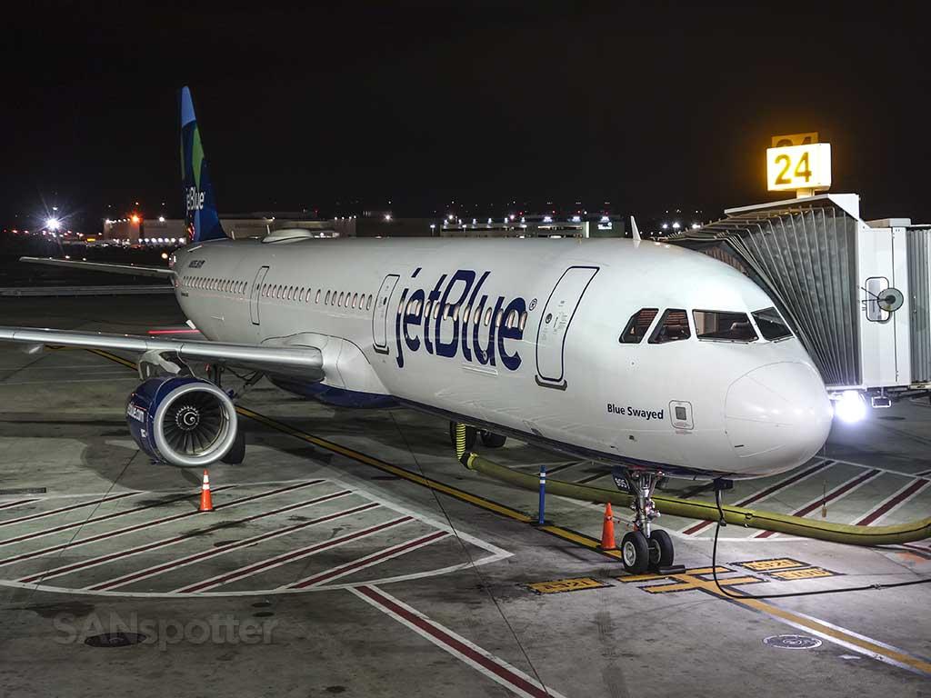 JetBlue A320 at JFK