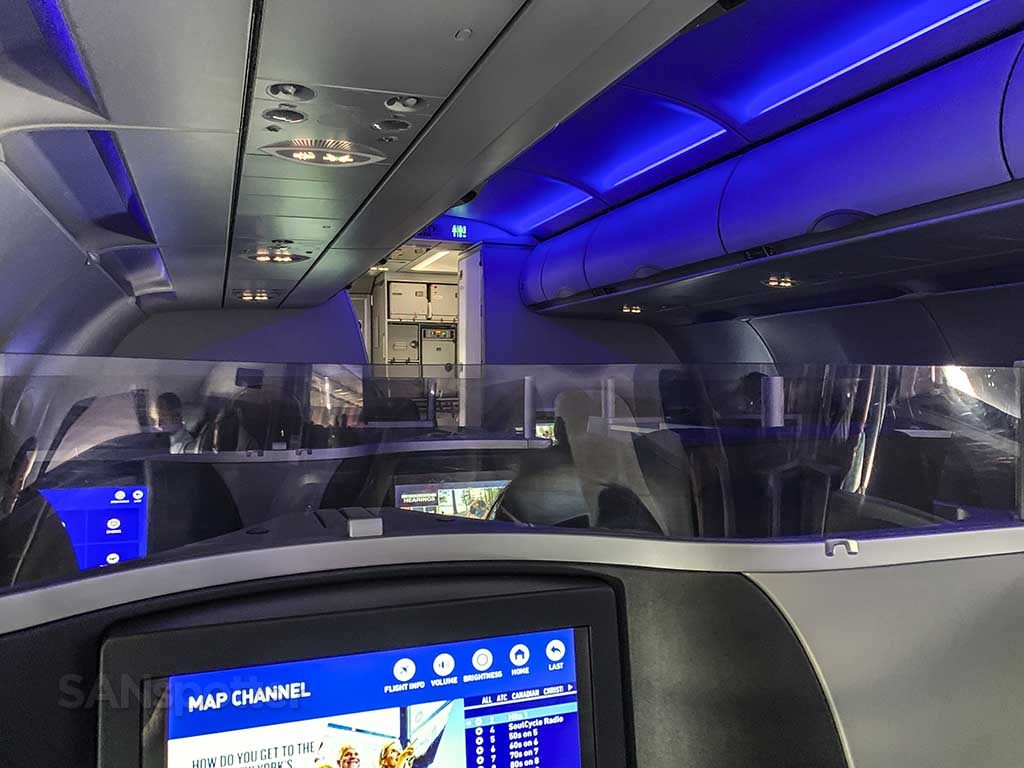 the JetBlue Mint experience