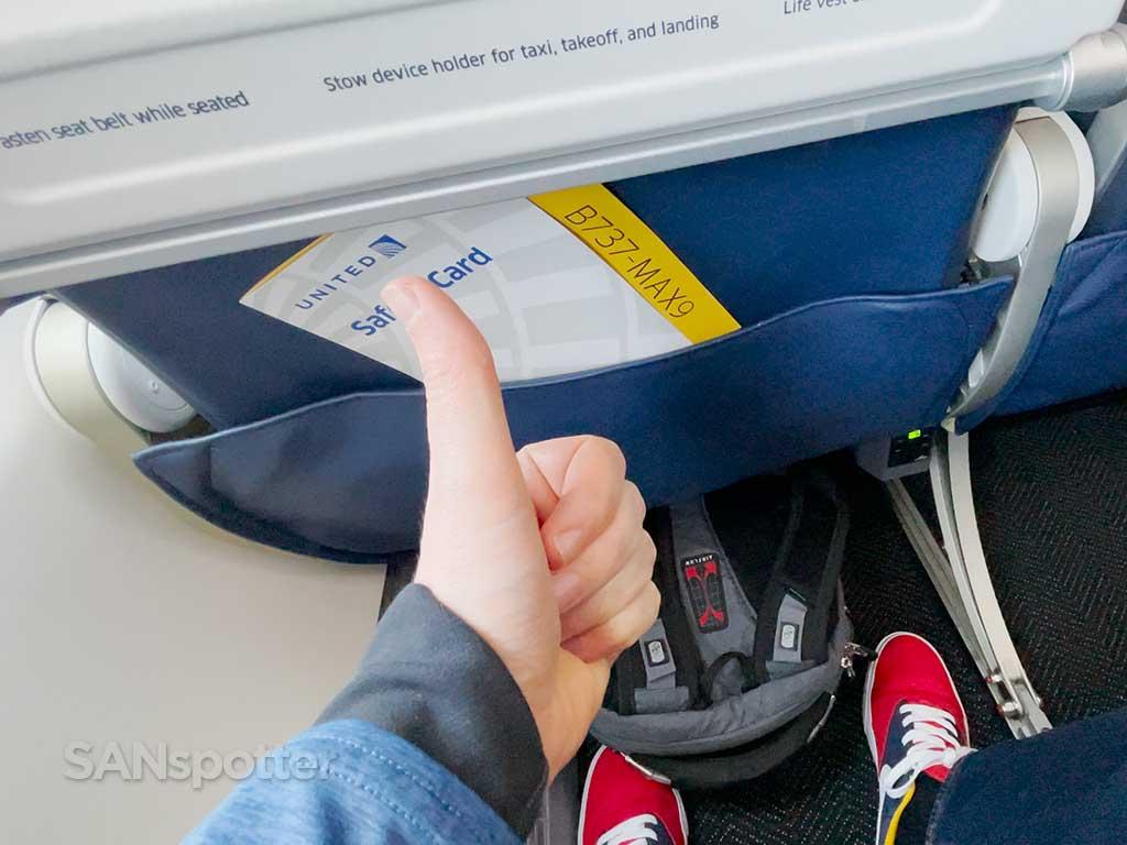 successful 737 MAX flight