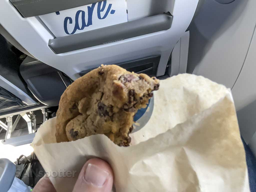 Alaska Airlines first class snacks