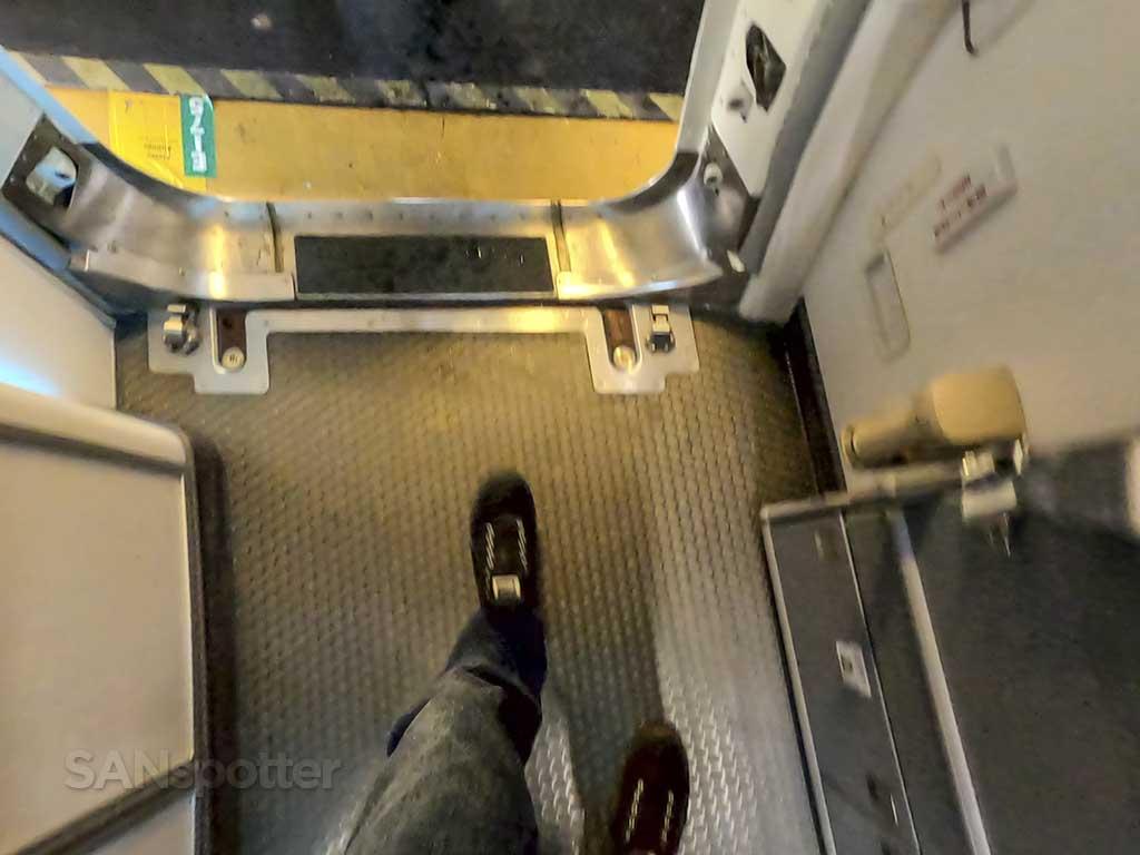 Walking off Alaska Airlines 737 max 9