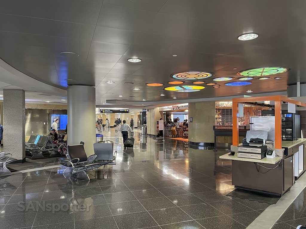 Terminal 2 east San Diego Airport