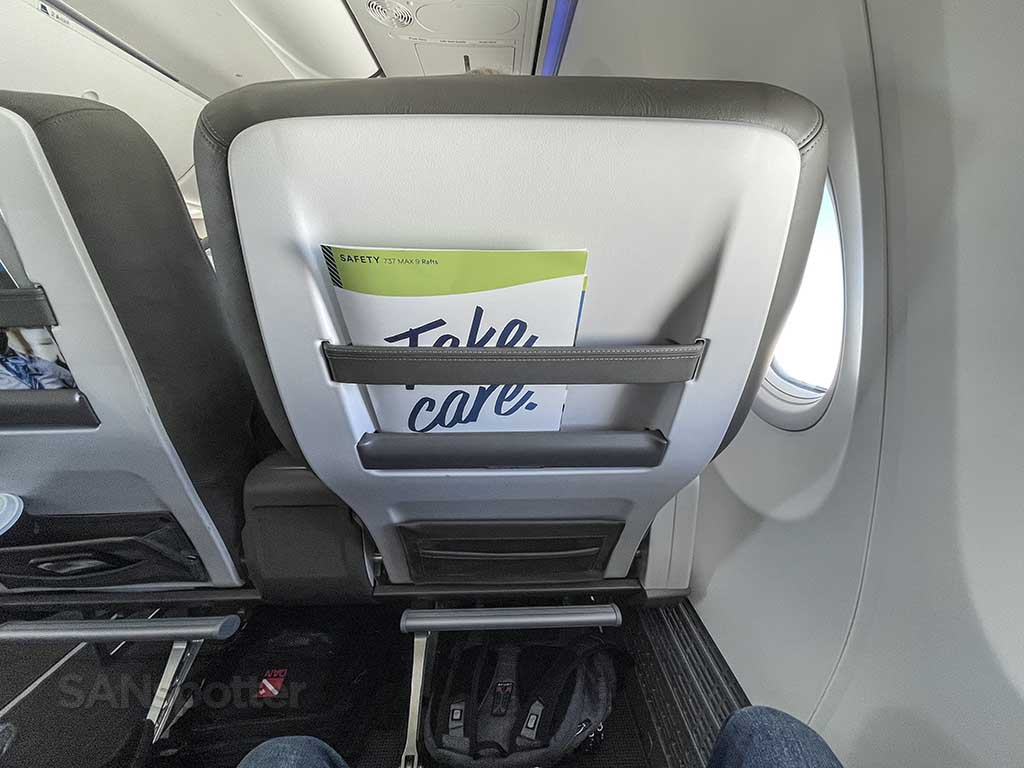 Alaska Airlines 737 max 9 first class experience