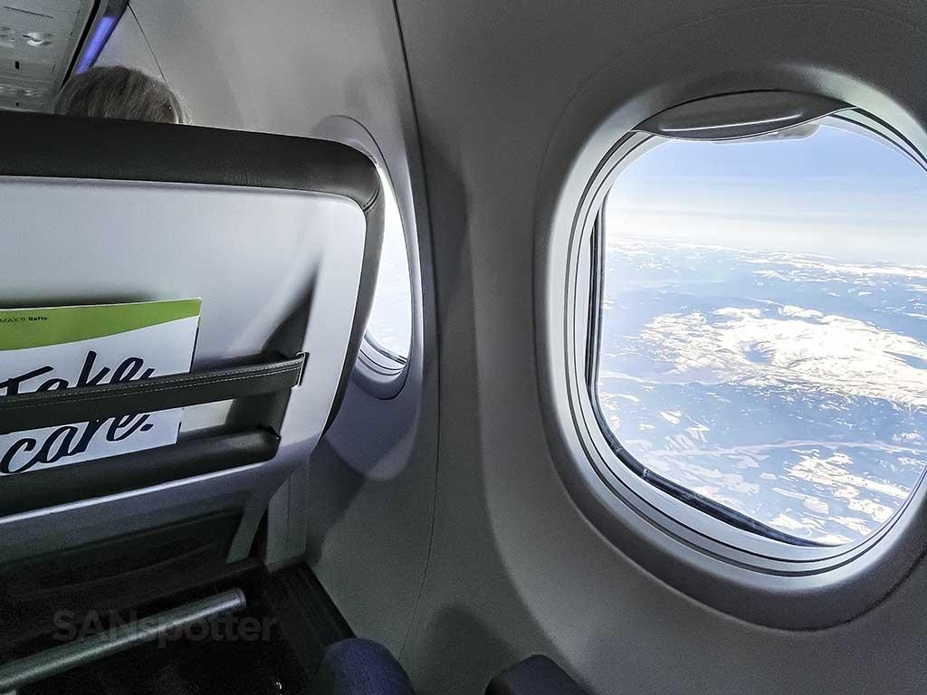 Flight to Seattle scenery