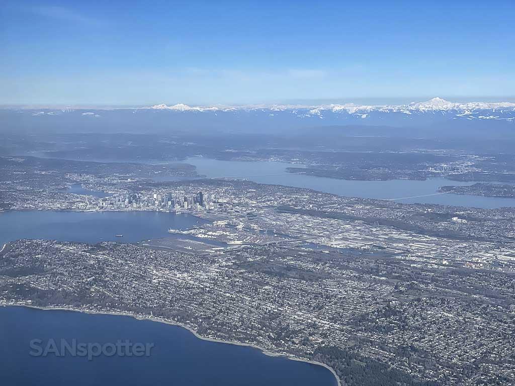 Descent into Seattle