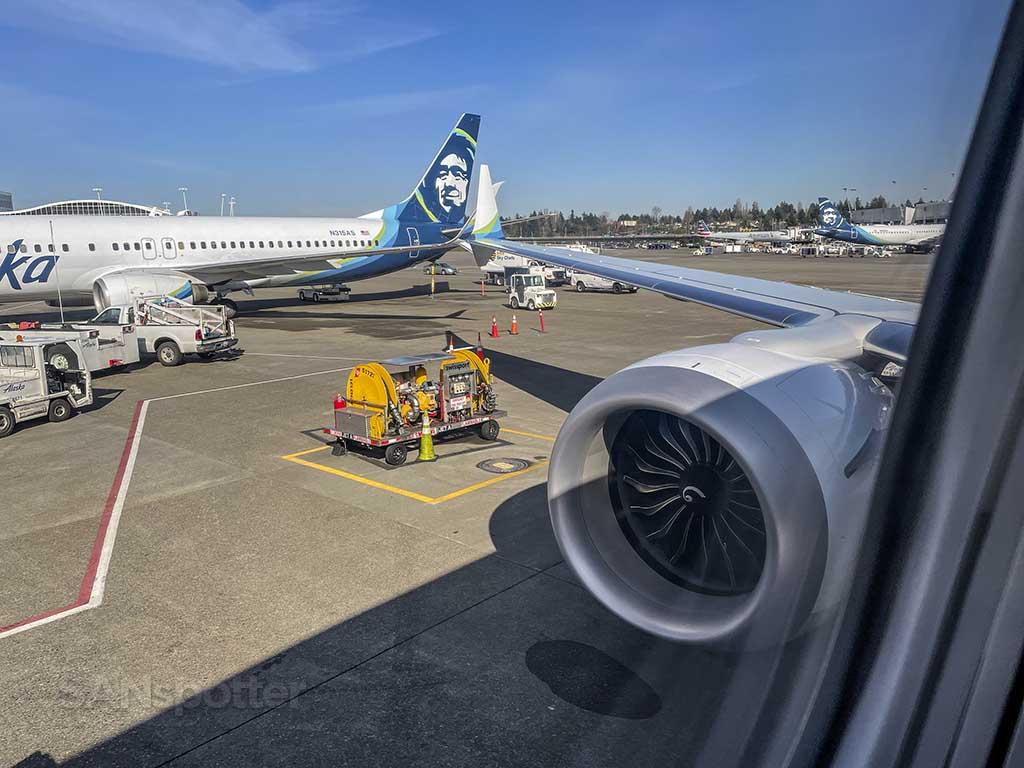Arrival in Seattle