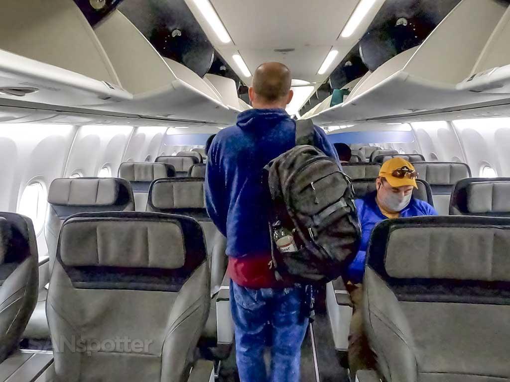 Alaska Airlines 737 MAX first class seats