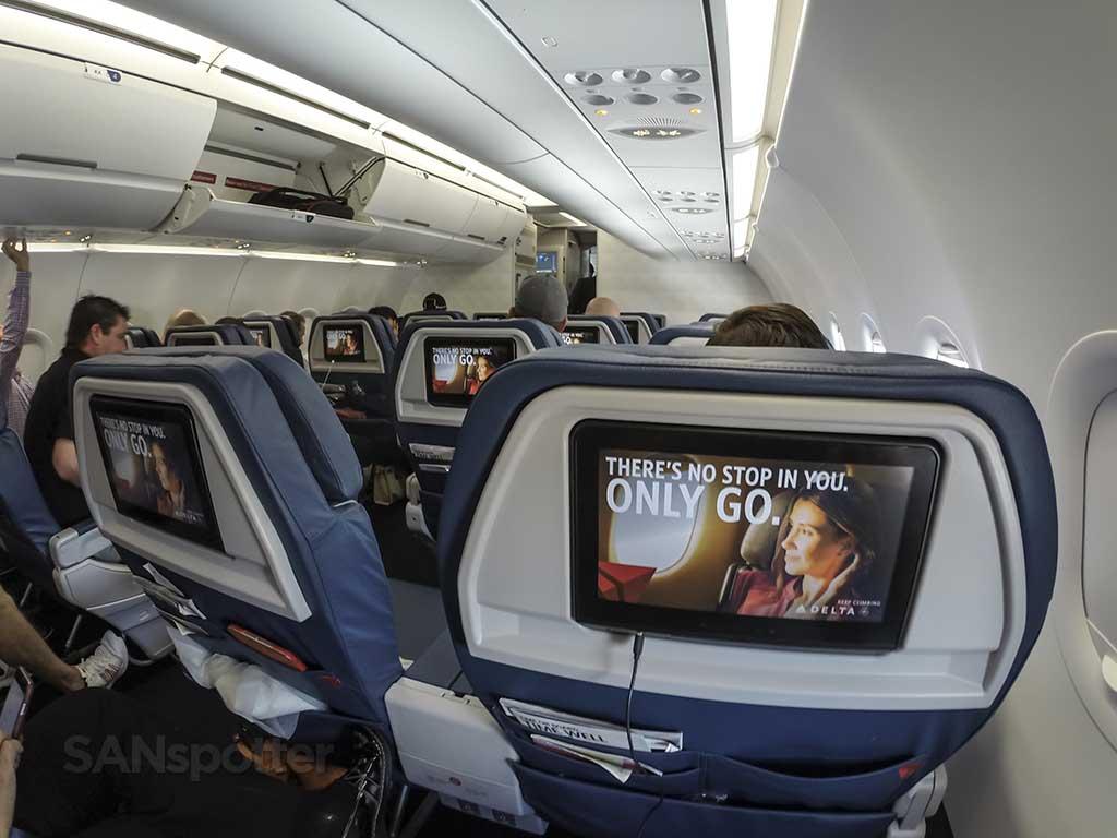 Delta Air Lines A321 first class