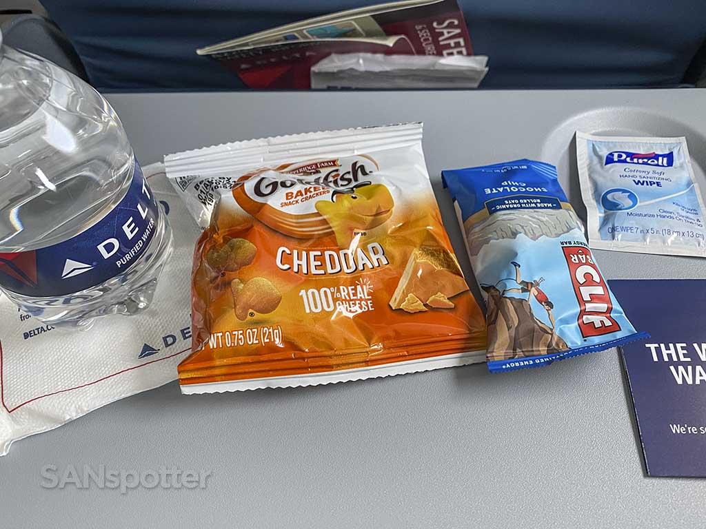 Delta air lines COVID snack