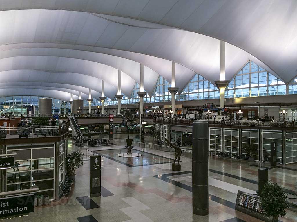 Denver airport main terminal