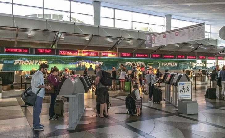 Denver airport short layover
