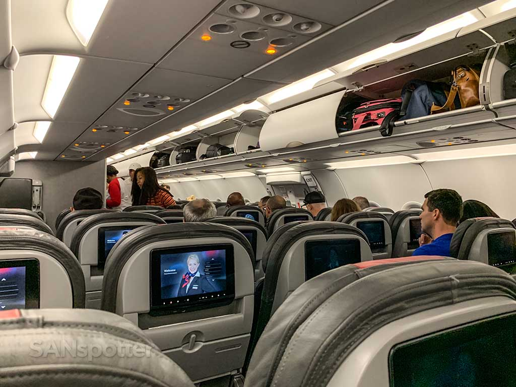 American Airlines main economy