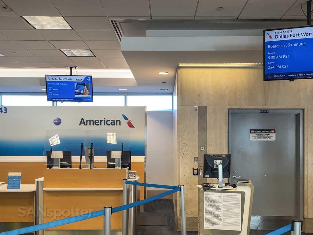 Gate 43 terminal 4 LAX