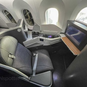 American Airlines 787-9 business class seat