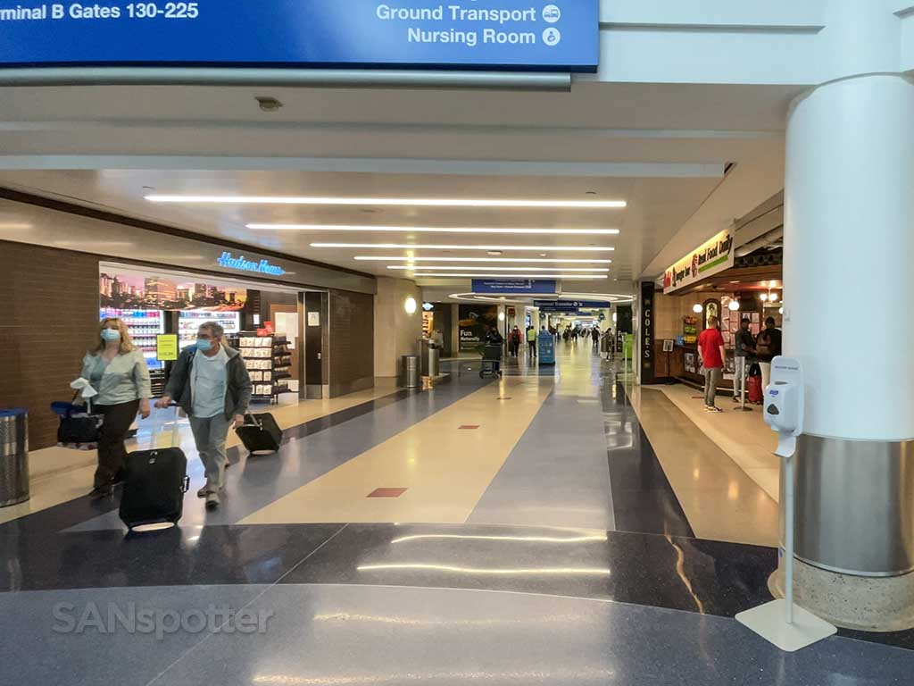 LAX terminal 4 inside