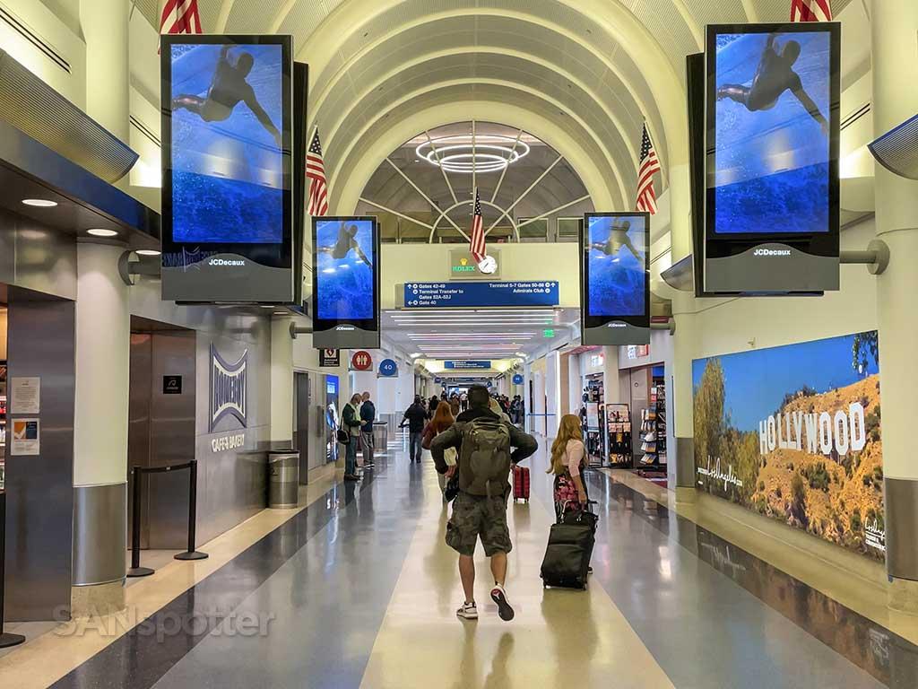LAX American Airlines terminal interior
