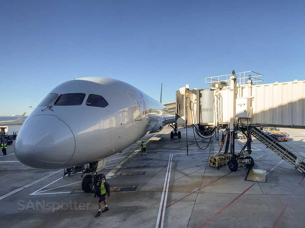 AA 787-9 at gate LAX