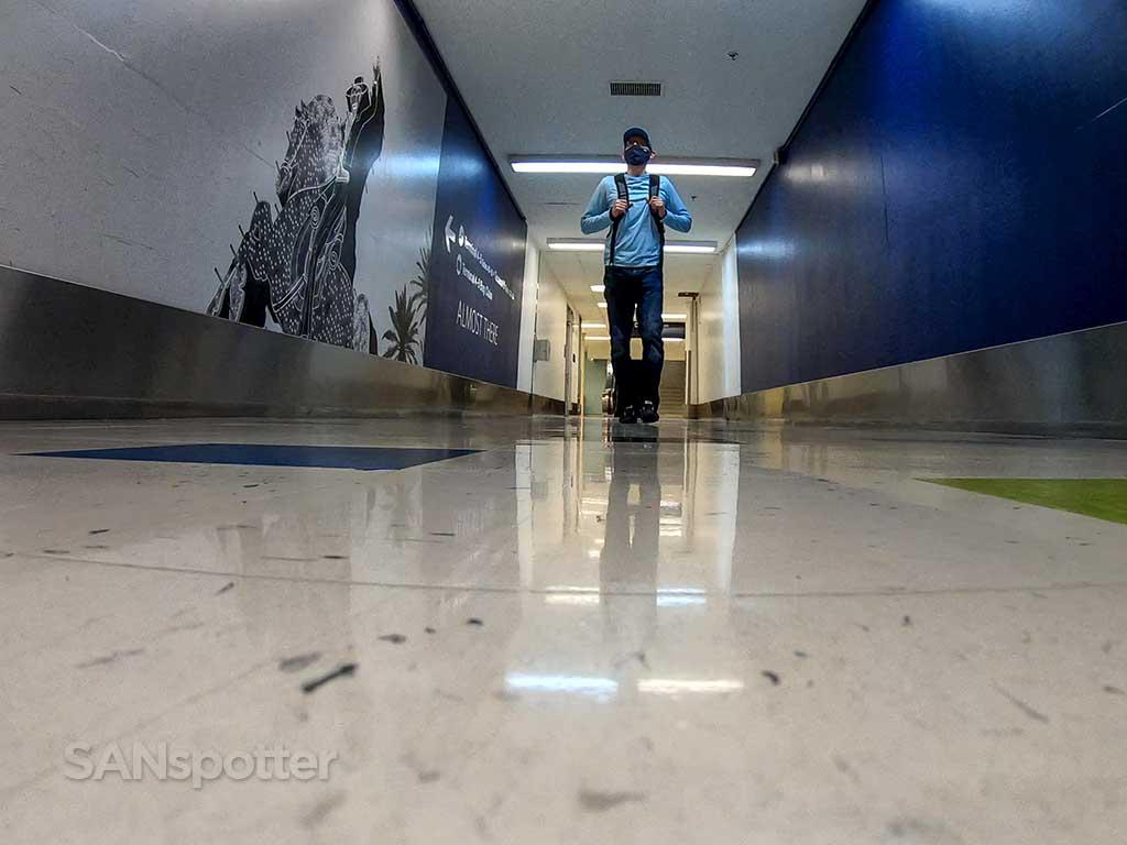 LAX underground tunnel
