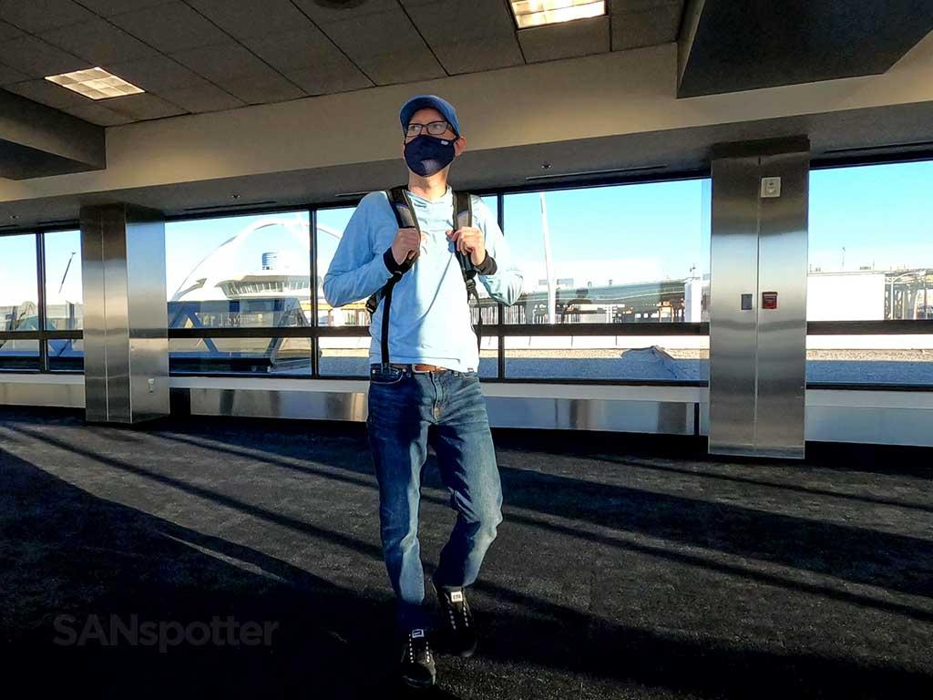 SANspotter selfie at LAX