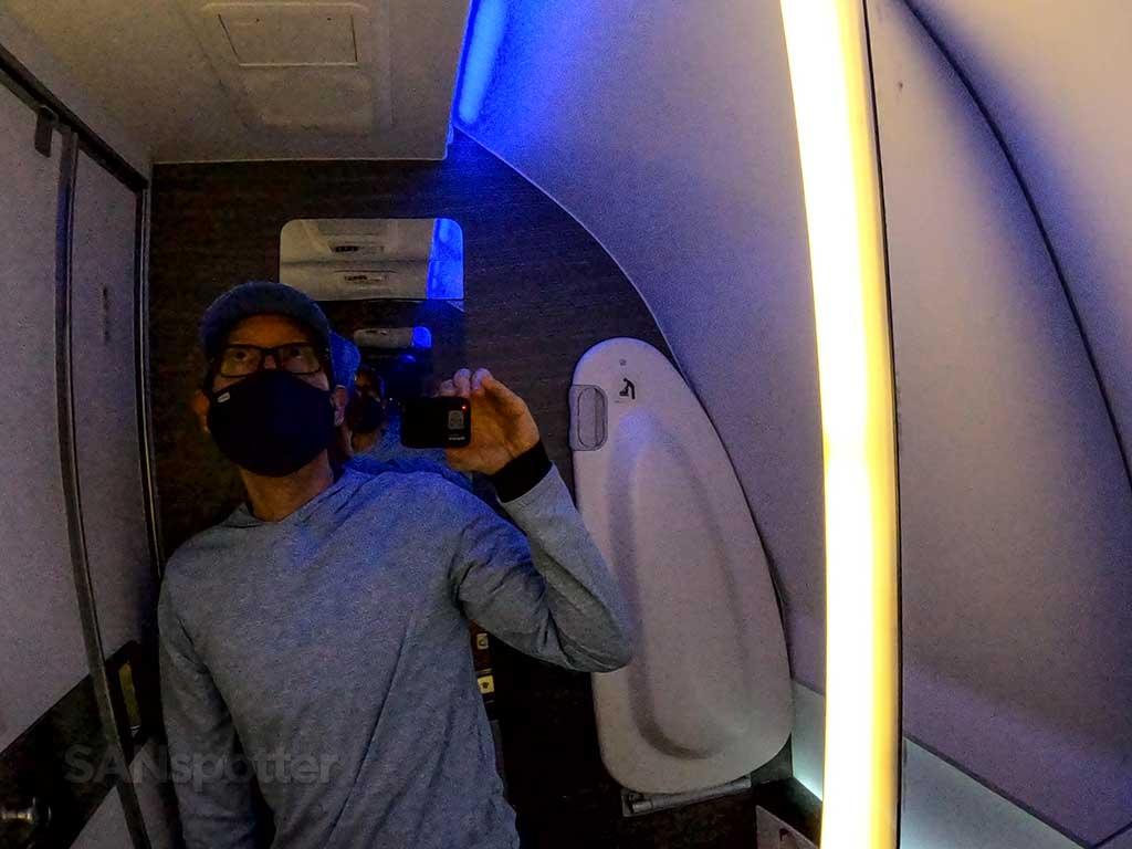 Boeing 787 lavatory