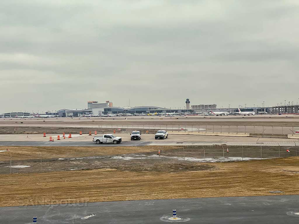 Arrival at DFW airport