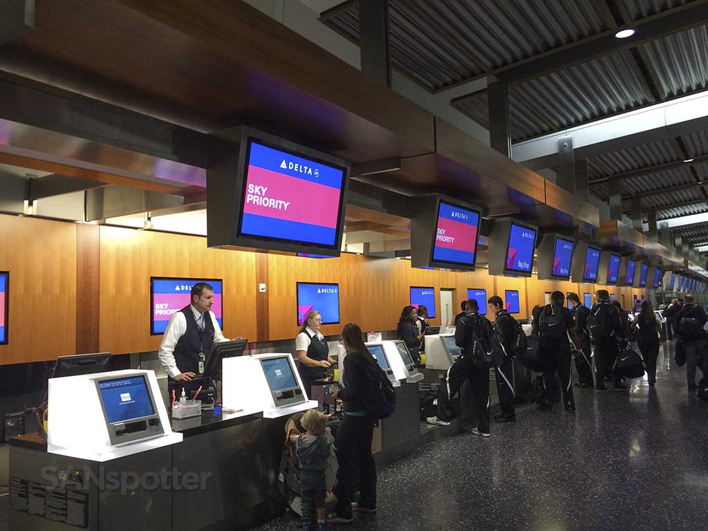 Checking in at airport with a warrant