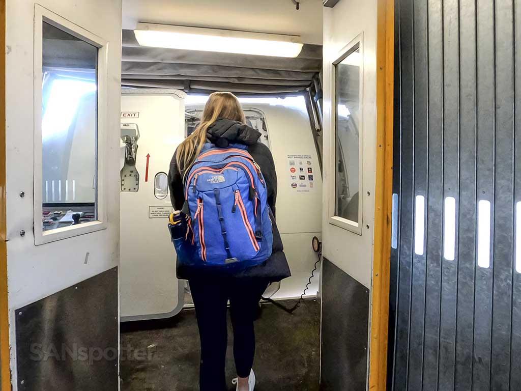Delta A200 boarding door