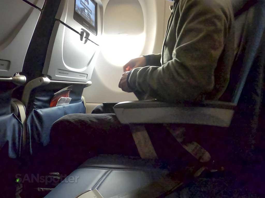 Delta a200-300 economy leg room