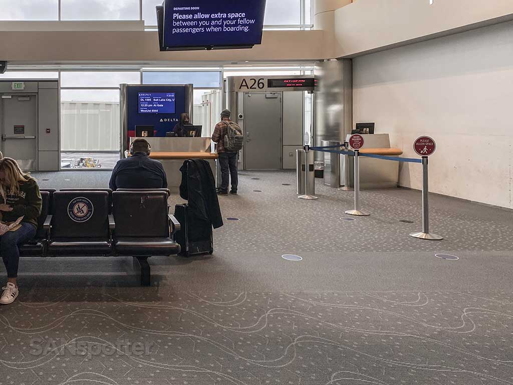 Gate A26 Denver airport