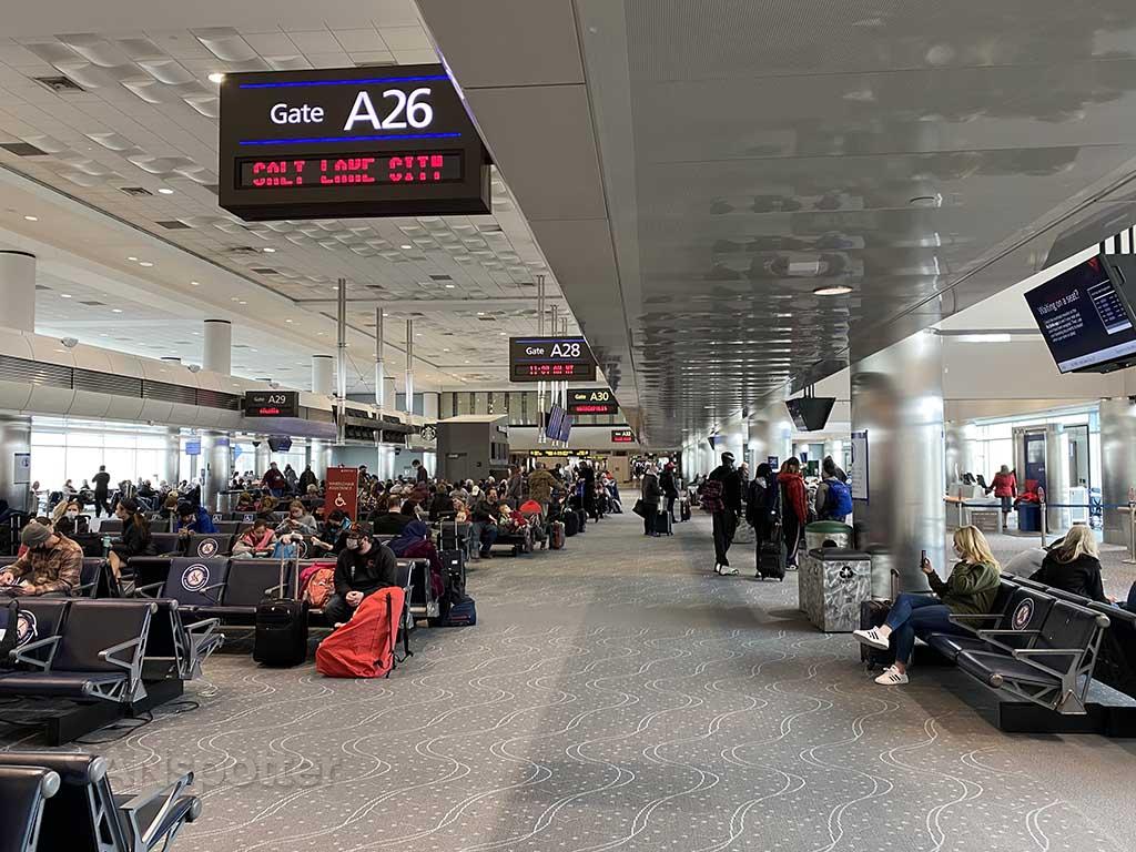 Terminal A Denver airport