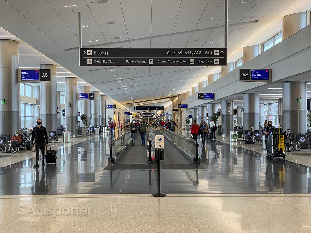 SLC airport terminal