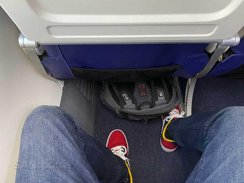 Southwest Airlines leg room