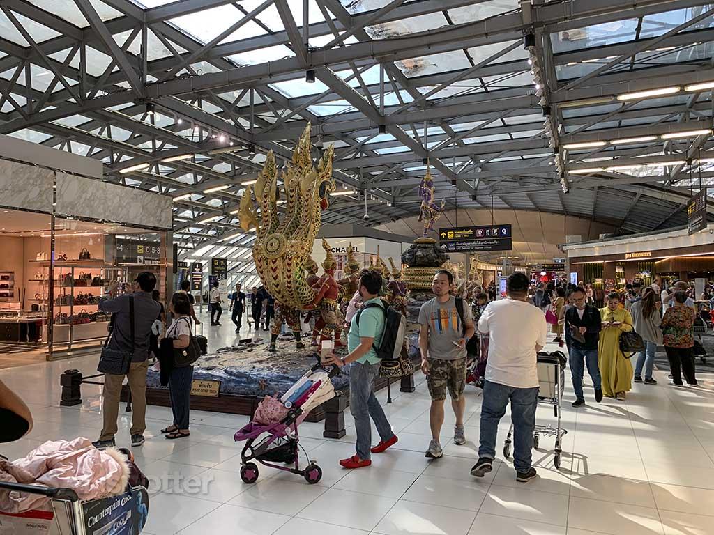 BKK airport main terminal