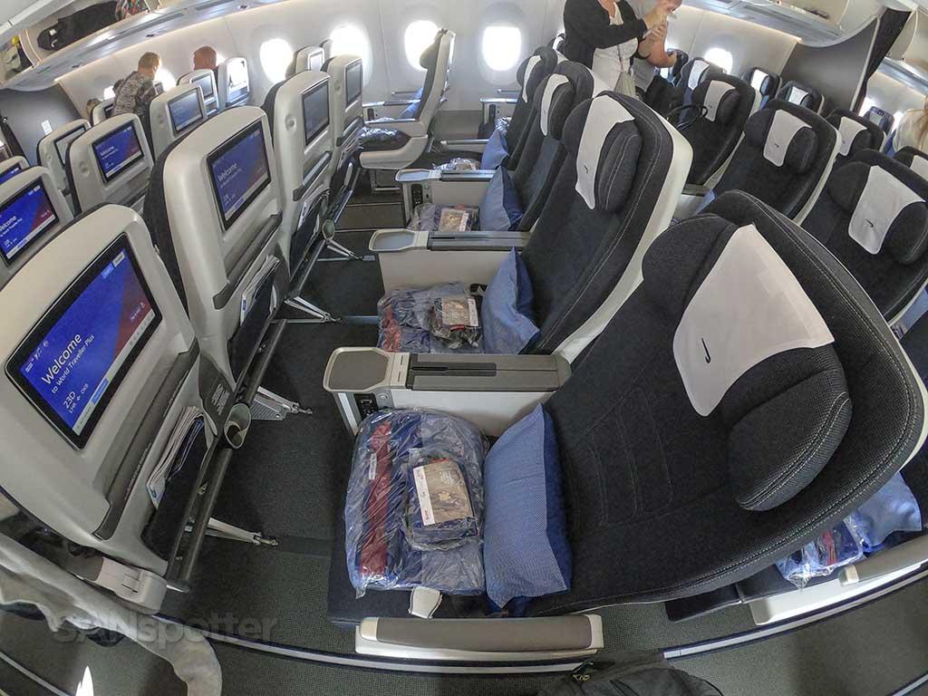 British Airways A350 premium economy