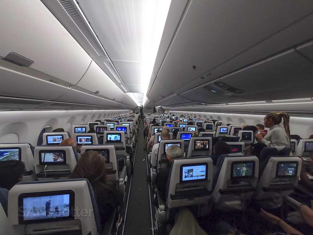 British Airways A350 economy class