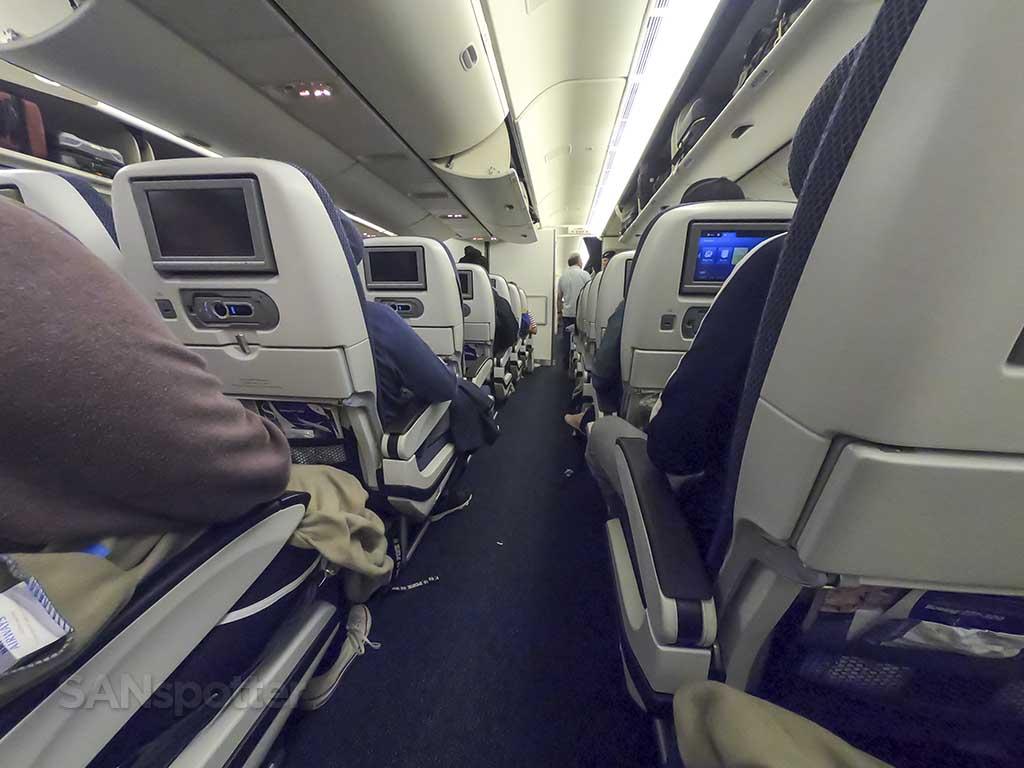 British Airways 777-300 economy class