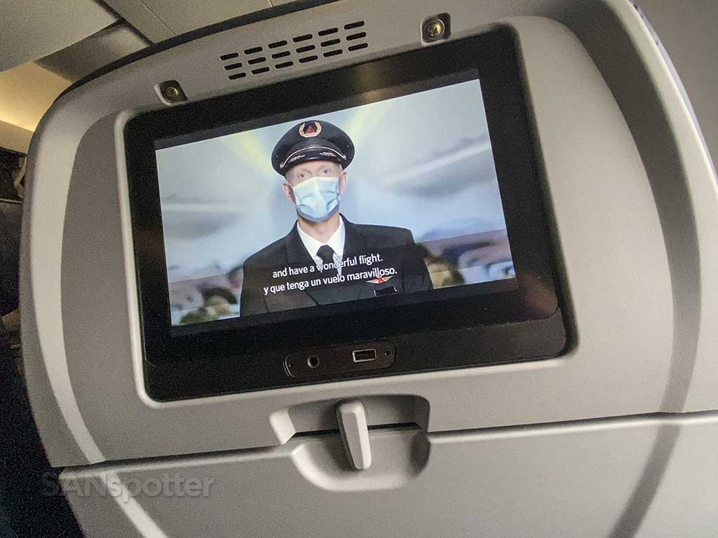 Delta Air Lines safety video 2021