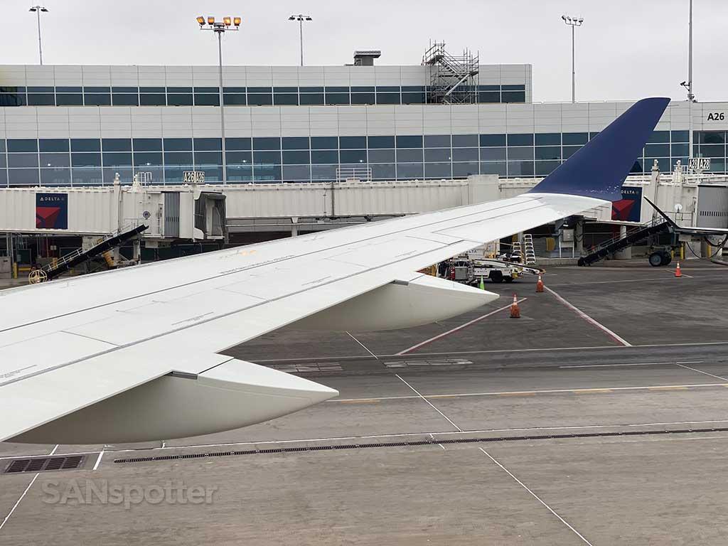 Departing Denver airport