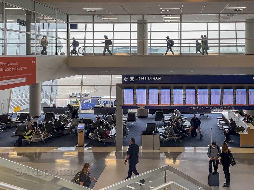 DFW Airport D gates