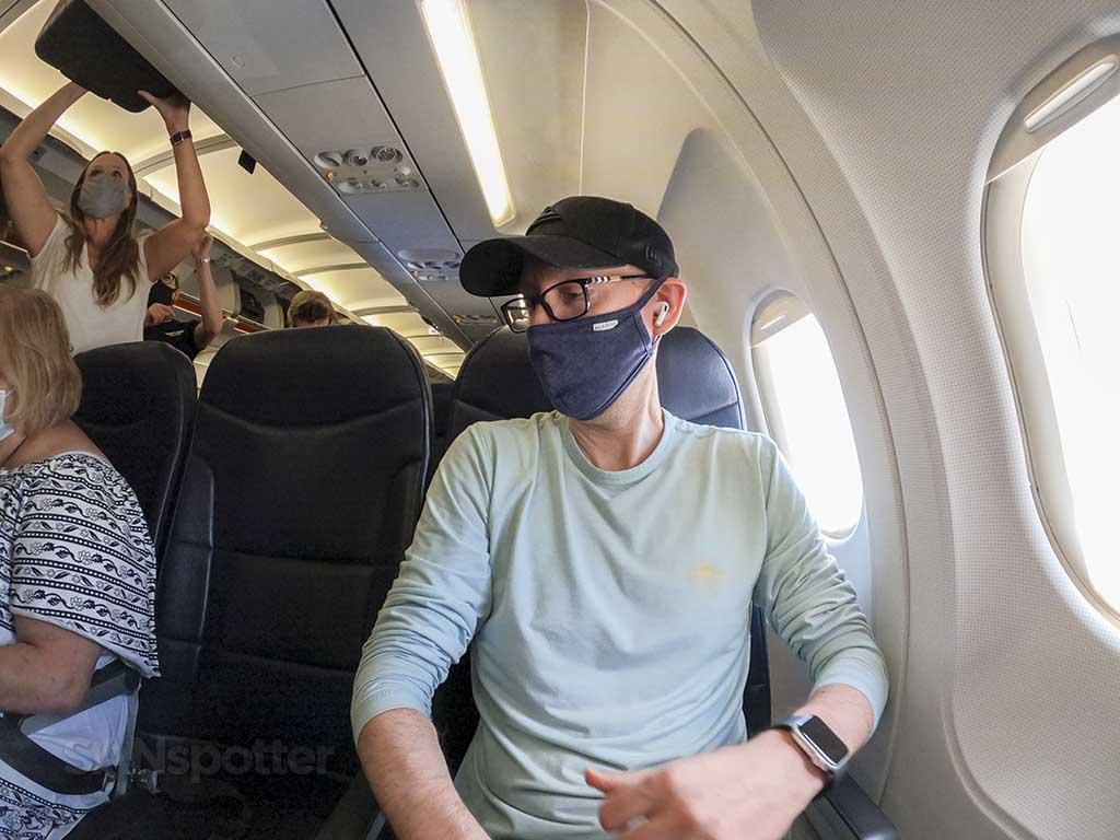SANspotter selfie Allegiant Air A319