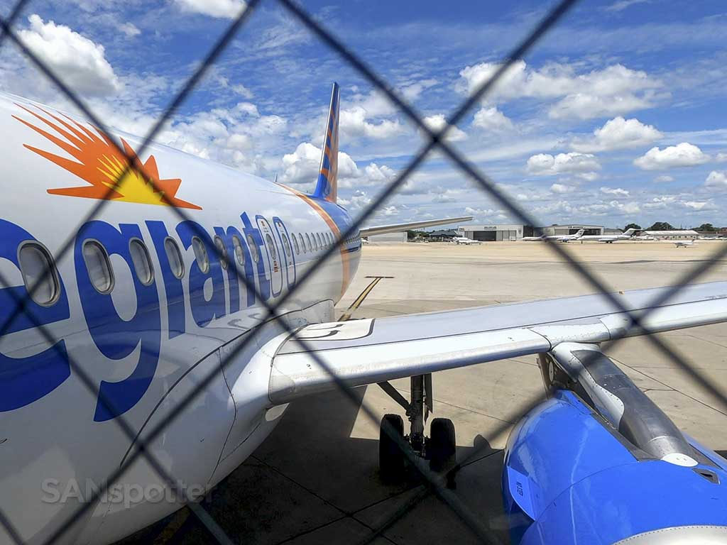 Allegiant Air A319 new livery
